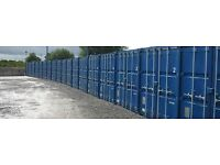 Containers for Storage - secure site, modern & waterproof, 24/7 access