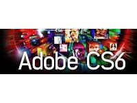 Adobe Master Collection CS6 For Windows / Macbook / Imac - BUY 1 SOFTWARE - GET 1 FREE ONLY TODAY !