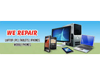Computer, Laptop and Phone Repairs - NO FIX NO FEE, NO CALL OUT CHARGE