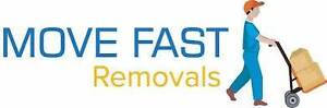Cheap and Professional HOUSE Removalists (MOVE FAST REMOVALS)