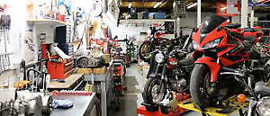 Motorcycle Repairs all makes and models motorcycle service
