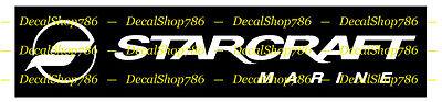 Starcraft Boats - Outdoor Sports- Vinyl Die-Cut Peel N' Stick Decals & Stickers
