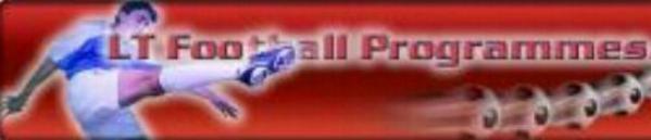 LT FOOTBALL PROGRAMMES