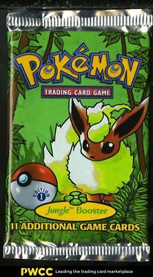 1999 Pokemon Jungle 1st Edition Factory Sealed Booster Pack, Flareon Art