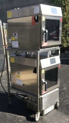 Dual Cleveland Convotherm Easytouch Model Oes 6.10 Mini Combi Ovens Wracksteam