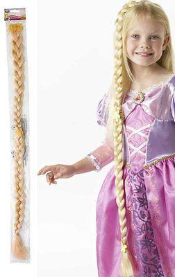 RUB 335352 Disney Kinder Lizenz Rapunzel langer Zopf Braid anstecken no Perücke ()