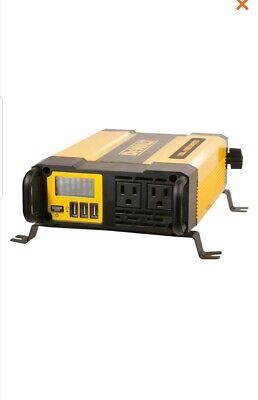 Dewalt Power Inverter DXAEPI1000 1000 Watt Continous/2000 Watt Peak