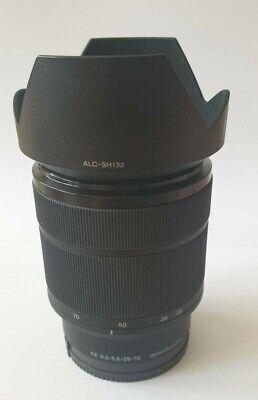 SONY SEL2870 FE 28-70mm f 3.5-5.6 OSS E Mount Full Frame Lens hood.