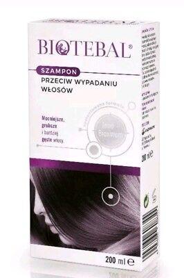 BIOTEBAL 200ml Szampon Przeciw Wypadaniu Wlosow Anti Hair Loss Shampoo