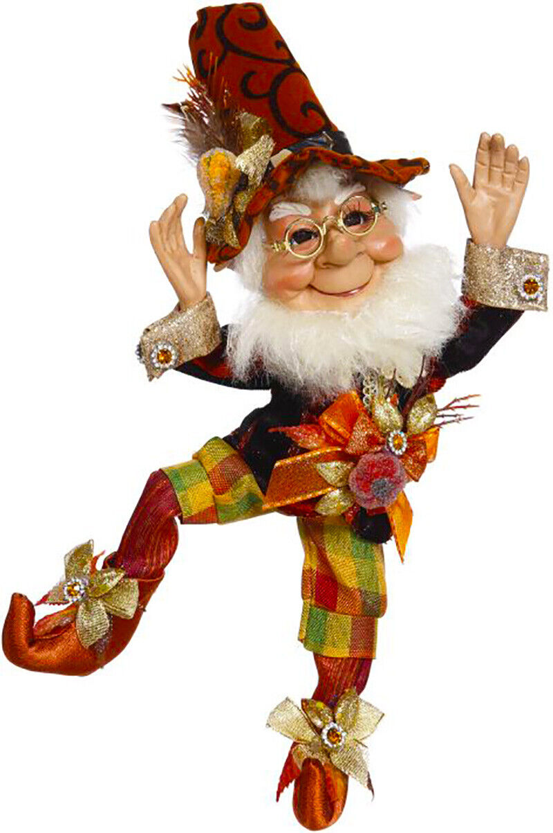 "[Mark Roberts Elves - Thanksgiving Elf 51-05514 Small 11"" Figurine </Title]"