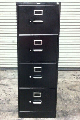 Hon 310 Series Vertical File Cabinet Locking 4-drawer Legal Size
