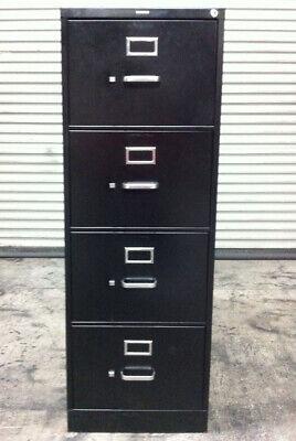 Hon 310 Series Vertical File Cabinet Locking 4-drawer Legal Size