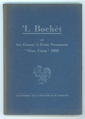 'L BOCHET DEL SEST CONCORS 'D POESIA PIEMONTEISA NINO COSTA 1955 DIALETTO