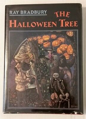 THE HALLOWEEN TREE by RAY BRADBURY ~ 15th Anniversary Edition ~ SIGNED & DATED](The Halloween Tree 1st Edition)