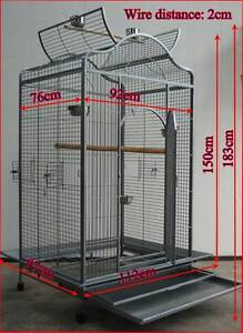 Brand New Large Bird Cage Parrot Aviary Open Roof 183cm * ED24 Thomastown Whittlesea Area Preview