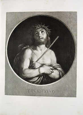 Guido Reni Conrad Geyer Ecce Homo Jesus Christus Dornenkranz Fessel Bologna Rute
