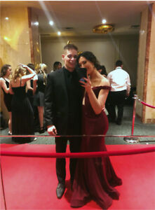 RED PROM DRESS / LONG FORMAL DRESS