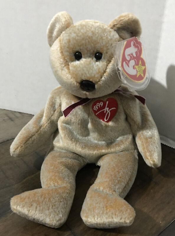 Ty Beanie Baby Babies RARE 1999 SIGNATURE Bear