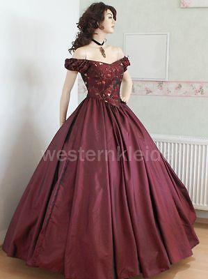 Westernkleid Saumumf 954! Biedermeierkleid Südstaatenkleid Civil War Kleid KT247