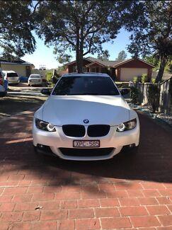 2009 BMW E92 325i Satin White Wrap For Sale Maidstone Maribyrnong Area Preview