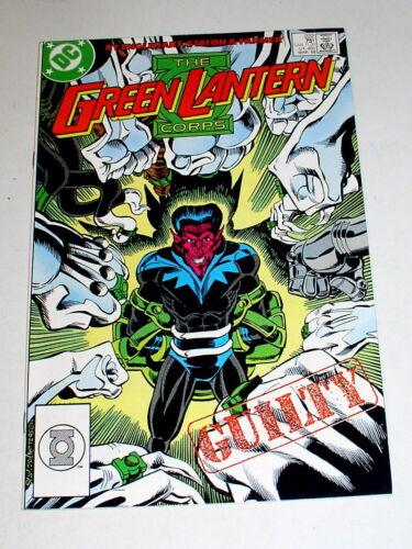 GREEN LANTERN #222  Key: THE GREEN LANTERN CORPS EXECUTES SINESTRO