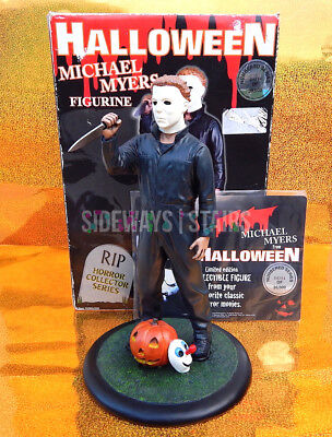2001 HALLOWEEN MICHAEL MYERS STATUE limited edition cold cast figure horror RARE