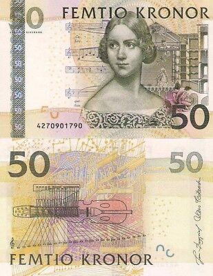 P64  Sweden / Schweden  50 Kronor   2004   UNC