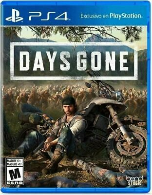 Days Gone PS4 (Sony PlayStation 4, 2019) , Brand New  Fast Ship