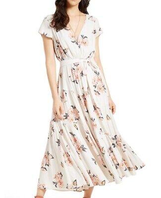 NWT Free People $168 'All I Got Maxi' Dress Ivory Size 4