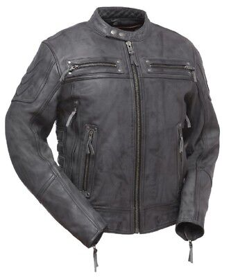 First Manufacturing Warrior King Leather Jacket