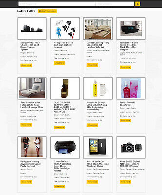 Classified Ads Website For Sale Free Hosting Installation