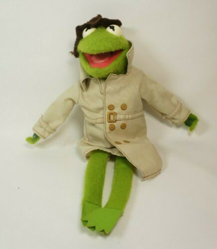 Kermit The Frog Dress-Up Muppet Doll  1981  Fisher Price