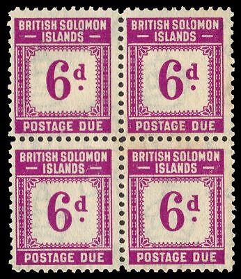 "SOLOMON ISLANDS J6 (SG D6) -Numeral of Value ""Postage Due"" (pa30255)"
