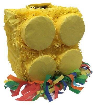 Pinatas For Parties (Yellow Brick Pinata for Building Block)