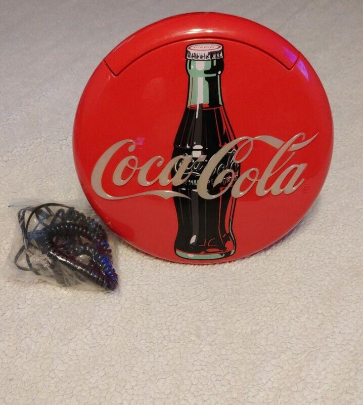 Vintage Coca Cola Round Telephone