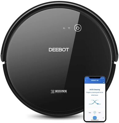 ECOVACS DEEBOT 661 Convertible Vacuuming or Mopping Robotic Vacuum Cleaner-New