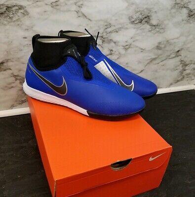 303486b3e Nike React Phantom VSN Pro DF IC (AO3276-400) Soccer Shoes Futsal Size 9