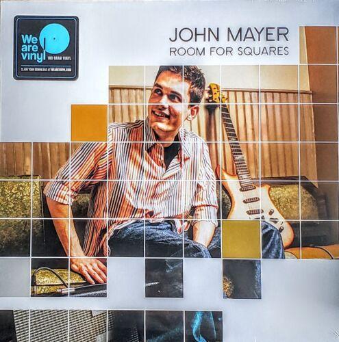 "JOHN MAYER - ROOM FOR SQUARES - 180 GRAM VINYL LP "" NEW, SEALED "" W/DOWNLOAD"