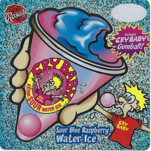 "Rosati Crybaby Ice Cream Truck Sticker  6"" x 6"""