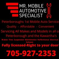 Mechanic - Mobile- Peterborough 1st fully mobile auto service