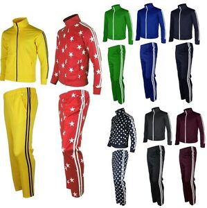 Mens-Womens-Running-jogging-Track-Suit-warm-up-pants-jackets-gym-training-wearAA