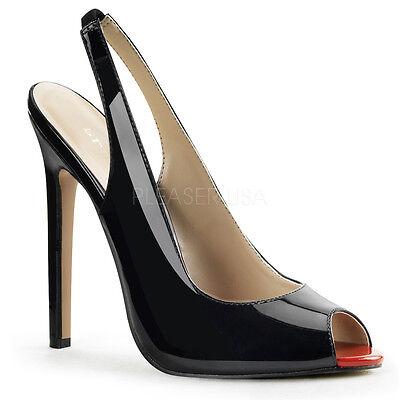 Pleaser Shoes Sale (BIG SALE PLEASER Sexy Black Slingback 5