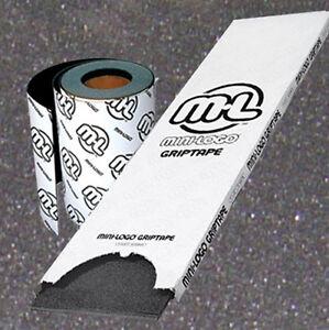 MINI-LOGO-Skate-Largo-tabla-Cinta-De-Agarre-Negro-Antideslizante-Griptape-22-9cm