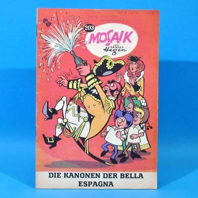 Mosaik 203 Digedags Hannes Hegen Originalheft | DDR | Sammlung original MZ 22