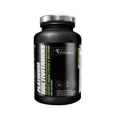 Multi Vitamins & Minerals Complete Daily Tablet 60 Tablets Exclusive Supplements (Exclusive Supplements)