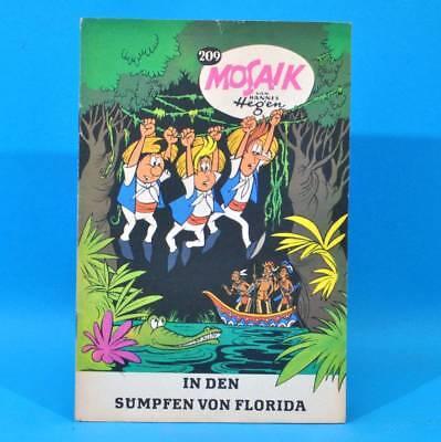 Mosaik 209 Digedags Hannes Hegen Originalheft | DDR | Sammlung original MZ 2