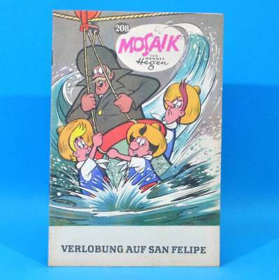 Mosaik 208 Digedags Hannes Hegen Originalheft | DDR | Sammlung original MZ 2