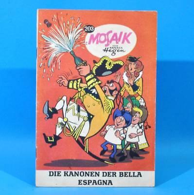 Mosaik 203 Digedags Hannes Hegen Originalheft | DDR | Sammlung original MZ 12