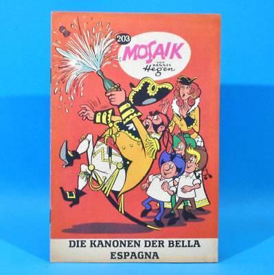 Mosaik 203 Digedags Hannes Hegen Originalheft | DDR | Sammlung original MZ 25