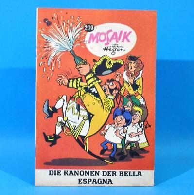 Mosaik 203 Digedags Hannes Hegen Originalheft | DDR | Sammlung original MZ 18